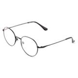 韩版复古圆形细框眼镜架